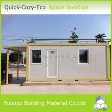 Economical Energy Saving Convenient Prefabricated Security Cabin