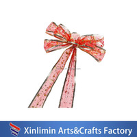 Wholesale Hot sale fabric butterful ribbon bow for gift packing