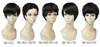 JP Hair 2015 New Products $35 Short Machine Made Human Hair Wigs