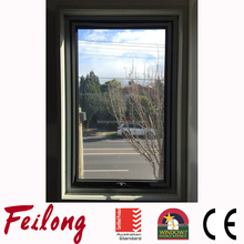 AS2047 Standard Double Glazed Aluminum Top Hung Awning Window Exported to Australia