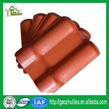 Color de la mezcla uv protección nuevo estilo de china teja para la casa