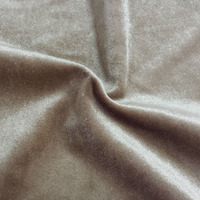 polyester padded loop vlevet fabric 100 polyester tricot brushed fabric