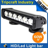 Sale promotion! 60W OFFROAD LED LIGHT BAR 4x4 Led Light Bar for all used car