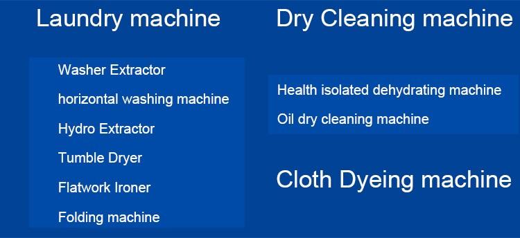 Промышленные 100 кг автоматическая прачечная стиральная машина