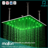 High Quality 3 Color Changing High Pressure LED Shower Head