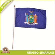 Hot selling factory directly triangle hand flag in marketing