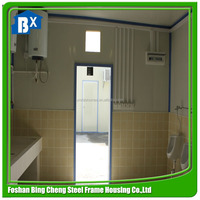 flat pack cheap container homes for toilet use on sale