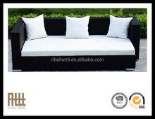High quality fashion design furniture garden rattan daybed sofa AWRF5158-1B