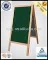 Pé de madeira menu chalkboard/cavalete de madeira decorativa