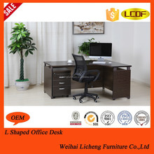 2014 new design on sale hot sell wooden modern executive desk office table