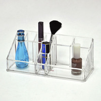 Clear Acrylic Lipstick Storage Case for Cosmetics