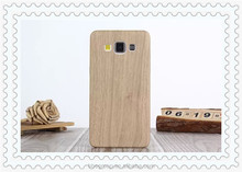 Super Flexible wooden Leather Ultra Thin Slim Case For A3 A5 A7 Back Protect Skin Phone Cover Silicone Gel Case For Samsung S6