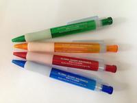transparent plastic ballpoint pen gift pen AD pen promotion pen print custom logo 1000pcs free shipping