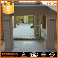 indoor carved marble carved composite stone fireplaces
