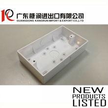 3x6 electrical pvc junction box 148x88x32mm T:1.7mm