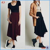 Newarrival nice fashion maxi design long skirt lasted skirt design picture