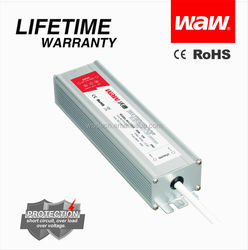 Constant voltage 60w led driver 12v 5a waterproof electronic led driver