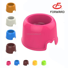 large plastic dog bowls with multi colors