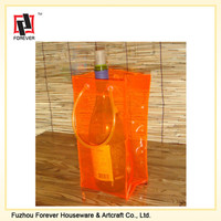 cheap wholesale pvc wine ice bag plastic ice bag for wine