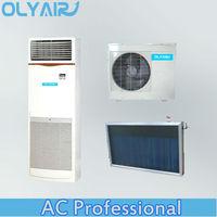 Flat plate solar air conditioner sysem floor standing Unit