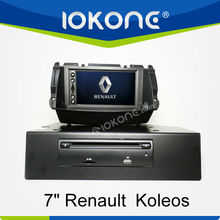 7'' HD Double din Touch screen GPS navigation system in dash Car DVD player for Renault Koleos 2010