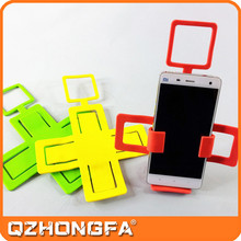 silicone mobile phone wall charging holder