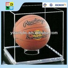 Customized acrylic led light box for basketball,ball display led acrylic box