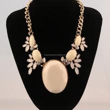 2015 beauty resin pendant fashion necklace