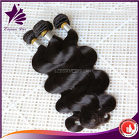 2015 hot sale wholesale body wave virgin brazilian hair extension