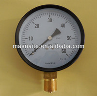 steel case low pressure manometer gauge