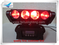 free shipping new product dj equipment 8x10w quad moving led bar beam