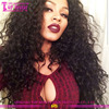 Loose curly wholesale brazilian hair wigs for african american black women