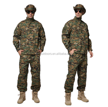 Wholesale Digital camouflage uniform russian military uniform used