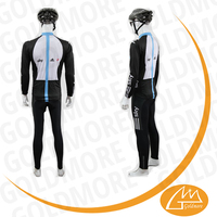 Hot new products Custom design Sky team men cycling jersey, Bike wear long sleeve sets ,Cycling clothing suit