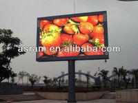Shenzhen Asram LED Display outdoor led panel p10 1r outdoor double side led display boards/outdoor double sides led display TV