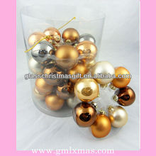 2015 best selling wholesale glass ball ornaments xmas glass decoration sale in Europe,Trade Assurance supplier