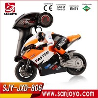 JXD 806 RC Motocycle 1/16 Scale 4CH 2.4G Stunt Drift moto Boys Electric Toys