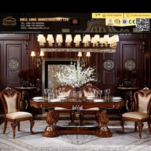 The French Classic Style Solid Wood Dining Room Furniture Sets