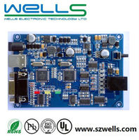 pcb assembly/controller board/dc motor pcba design and manufacturing