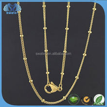 High Quality Chain Necklace Gold Filled Jewelry