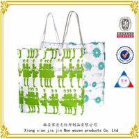 2014 Portable small and pure and fresh non-woven shopping bag manufactured in China