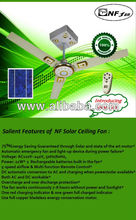 Solar Ceiling Fan With Solar Panel