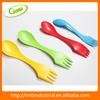 Multifuction plastic spoon & fork
