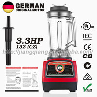 G7400 RED German motor technology professional heavy duty commercial blender 3.3HP 3.9L electric