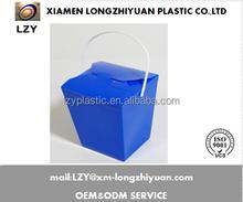 Maßgeschneiderte schönen kunststoff-falten pvc geschenkbox