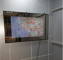 bathroom tv mirror 42 inch wall mounted digital advertising display
