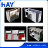 Custom malaysia exhibition booth contractor from Shanghai