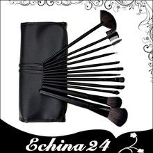 Portable Cosmetic Tool 12 pieces Brush Make Up Set