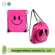 210D Polyester Drawstring Tote Sports Bag