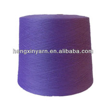 30/1 100%polyester ckose virgin Auto coned yarn for knitting